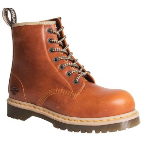 Chaussures de sécurité montantes Dr. Martens Icon S1P SRA Marron