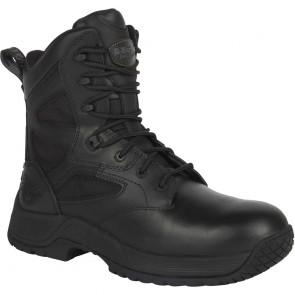 Chaussures de sécurité montantes Dr. Martens Skelton unisexe Noir