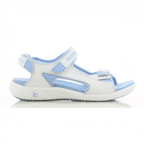 Sandale de travail Oxypas Olga bleu clair