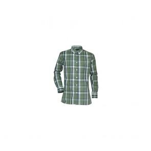 Chemise de travail à carreaux LMA Lupin vert