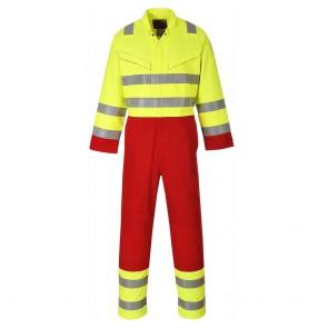 Combinaison haute visibilité Bizflame Portwest Services - Jaune