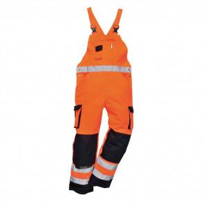 Cotte à bretelles haute visibilité bicolore Portwest Dijon Orange/Marine