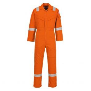 Combinaison flamme résistant et antistatique Portwest Bizflame Orange