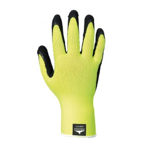 Gant Grip Portwest Haute visibilité Mousse de Latex