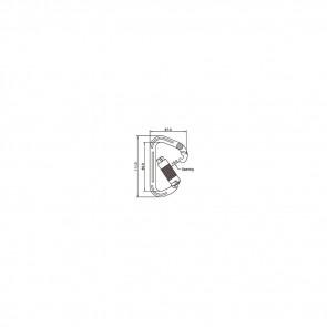 Connecteur aluminium automatique Toplock 71112