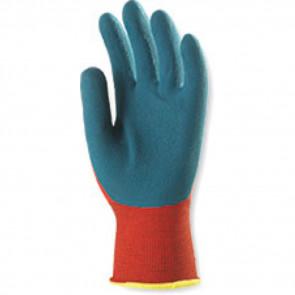 Gants de travail précison Nylon Latex Eurotechnique 1LAAR (lot de 12 paires de gants)