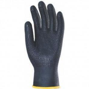 Gants de travail précision enduit nitrile Eurotechnique Eurodots (lot de 10 paires de gants)