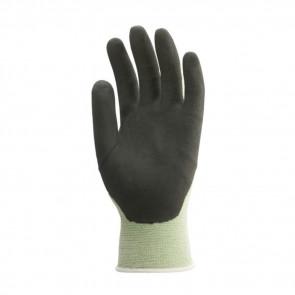 Gants de travail précision Fibre de bambou Enduit Nitrile Eurotechnique (lot de 10 paires de gants)