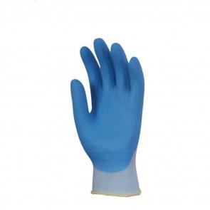 Gants de travail précision Nylon Enduit Nitrile Eurotechnique 6340 (lot de 10 paires de gants)