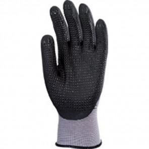 Gants de travail précision Nylon enduit Nitrile Eurotechnique 6250 (lot de 10 paires de gants)