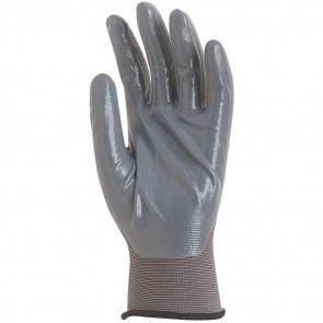 Gants de travail précision Polyamide enduit nitrile Eurotechnique 6230 (lot de 10 paires de gants)