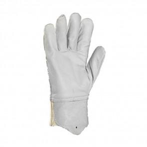 Gants de protection cuir de chèvre Eurotechnique avec protège-artère 2250