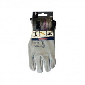 Gants de protection cuir de vachette Eurotechnique 1100 (lot de 10 paires de gants)
