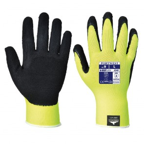 Gant Grip Haute visibilité Portwest jaune