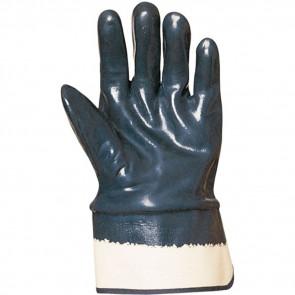 Gants de manutention Lourde double enduction Nitrile Eurotechnique 9650 (lot de 10 paires de gants)