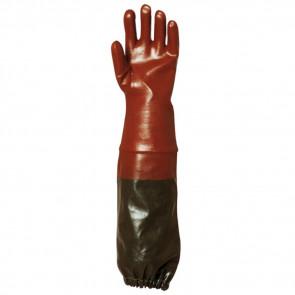 Gants résistants aux risques chimiques Eurotechnique 65cm 3669 (lot de 6)