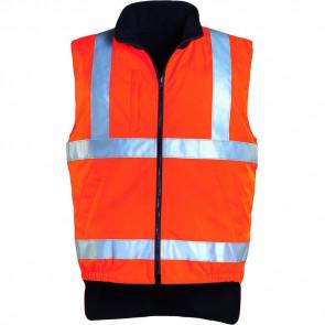 Gilet haute visibilité doublé polaire Coverguard Hi-way orange