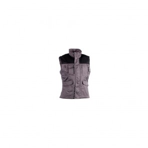 Gilet sans manches multipoches Diana Herock - gris