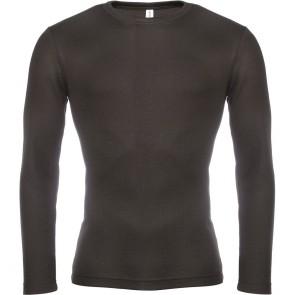 T-shirt manches longues chaud Kariban noir