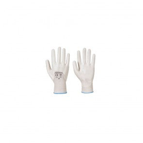 Gants nylon Portwest Enduits 3/4 PU Ultra A122 blancs