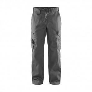 Pantalon de travail cargo Blaklader polycoton Gris avant