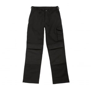 Pantalon de travail multipoches Universal Pro B&C Pro - Noir