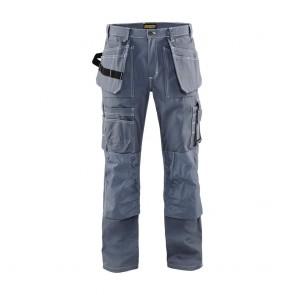 Pantalon de travail artisan + Blaklader 100% coton 370g avant