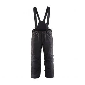 Pantalon hiver à bretelles Blaklader Noir face