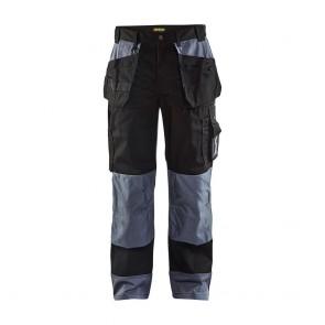 Pantalon de travail bicolore Blaklader artisan polycoton 300g