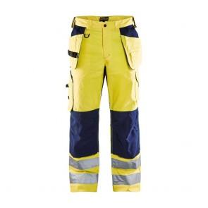 Pantalon de travail aéré haute visibilité Blaklader Artisan classe 2