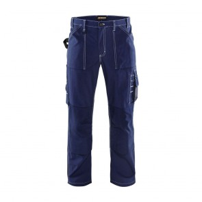 Pantalon de travail artisan Blaklader 100% coton avant