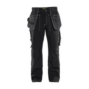 Pantalon de travail Blaklader Artisan 100% coton croisé 370 g/m²