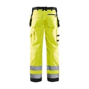 Pantalon de travail haute visibilité Blaklader Artisan classe 2 avec poches flottantes