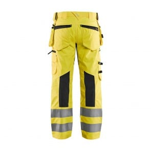 Pantalon de travail haute visibilité stretch Blaklader