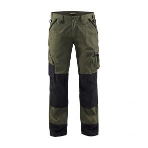 Pantalon de travail paysagiste polycoton Blaklader avant