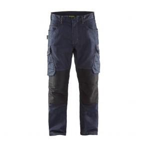 Pantalon de travail services denim stretch Blaklader Avant