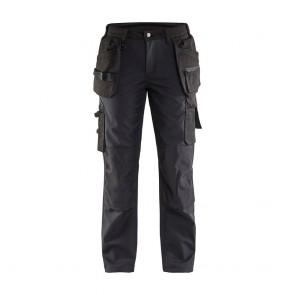 Pantalon de travail softshell femme Blaklader 100% polyester Avant