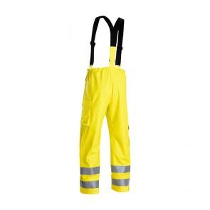 Pantalon de pluie à bretelles haute visibilité Blaklader ignifugé
