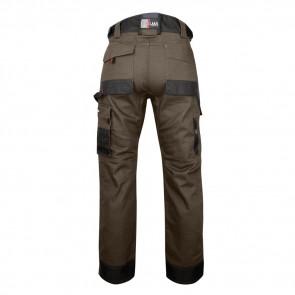 Pantalon de travail bicolore avec poches genouilléres TOURBE LMA