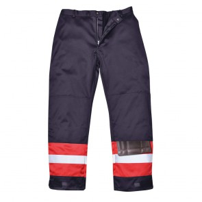 Pantalon bicolore antistatique Portwest Workwear bleu marine