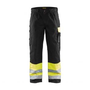 Pantalon de travail haute visibilité Blaklader spécial Transport classe 1