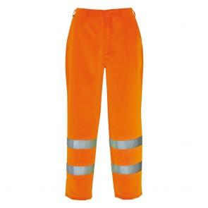 Pantalon haute visibilité polycoton Portwest Orange