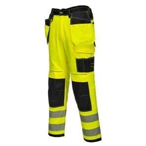 Pantalon haute visibilité Portwest Vision Jaune côté