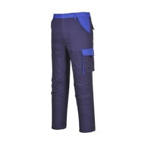 Pantalon de travail Multi Poches Portwest Poznan marine bleu royal
