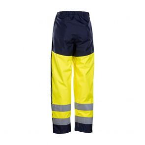 Pantalon de pluie haute visibilité étanche Blaklader Bicolore