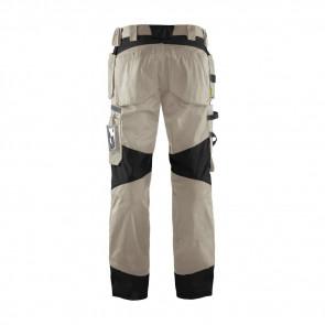 Pantalon de travail Artisan Blaklader à poches flottantes polycoton