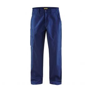 Pantalon de travail industrie Blaklader 100% coton croisé 320 g/m² Avant