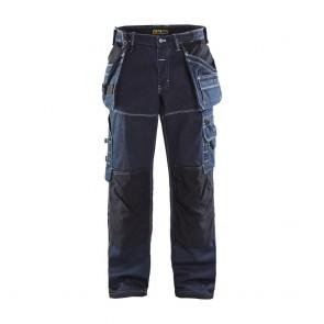 Pantalon de travail X1900 artisan cordura denim Blaklader Marine / noir avant