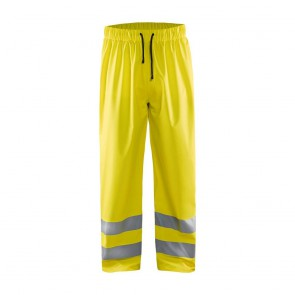 Pantalon de pluie haute visibilité Blaklader Jaune devant