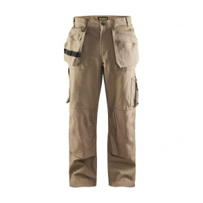 Pantalon de travail artisan tissu 1310 Blaklader 100% coton Beige antique